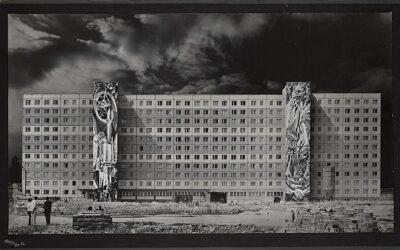 La arquitectura y el muralismo de Renau en el exilio